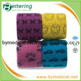 Printed Veterinary Flexible Cohesive Bandage Wrap