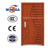 Art Style Winga Security Steel MDF Veneer Armored Door (W-A-9)