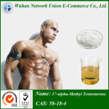 Hormone Steroid 58-18-4 China 17-Alpha-Methyl Testosterone with Safe Ship