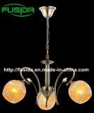 Modern Glass Round Flower Glass Chandelier