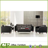 Home/Office PU/Leather Couch Sofa with Solid Wooden Feet CD-83603