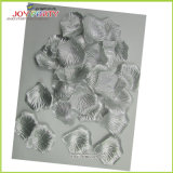 Silver Artifical Polyester Rose Petals
