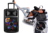 LED Light Trolley Rechargeable Speaker with Wireless