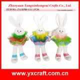 Easter Decoration (ZY13S788-1-2-3 17CM) Animated Easter Bunny Easter Stickers