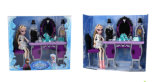 Kids Toy Beutiful 9cun Princess with Dressing Table