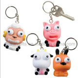 Animal Eye Pop out Squeeze Keychain (EYT050)