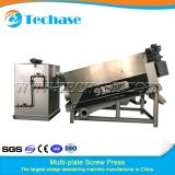 Multi-Plate Screw Press Sludge Dewatering Machine for Oily Better Than Belt Press