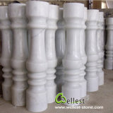 China High Quality White Marble Polished Surface Balustrade with Best Price