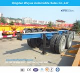 Tandem Axle Towing Trailer Dolly for Over Heavy Duty Lowbed or Faltbed Trailer