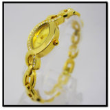 Ladies wrist watch gold