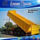 Used 3 Axle Rear Dump Semi Trailer/Tipping Truck Trailer