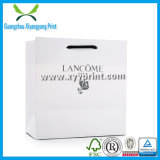 Luxury Handmade White Kraft Shopping Paper Packaging Bag with Logo Printed