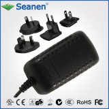 15W Series Power Adaptor with Interchangeable Plugs