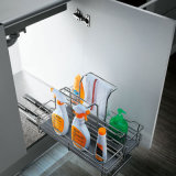 Oppein Sink Cabinet SUS202 Kitchen Basket (OP-LA020SB)