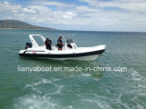 Liya 7.5m Hypalon Boat Rigid Hull Inflatable Boat Manufacture