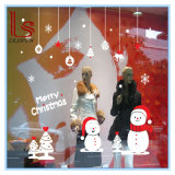 Snowflakes and Snowman Wall Sticker and Decals for Christmas Decoration