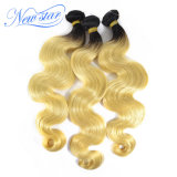 Unprocessed Virgin Hair Weaving Weft 1b/Blonde Body Wave Human Hair