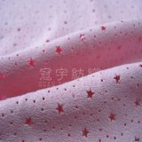 Punched Suede 100% Polyester Decorative Cloth
