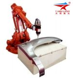 Mechanical Parts Fiber Laser Robot Cutting Machine