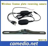 High Resolution Waterproof Wireless License Plate Rearview Camera