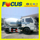 4X2 Mini Truck Mixer with Low Price Foton Chassis