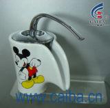 Polished Ceramic Basin Faucet (CB-23001)