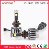 Factory Direct Sale 2s 9005 30W 2800lm LED Car LED Headlight Bulbs Headlamp with Competitive Price
