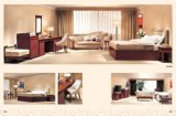 Classical Style MDF 4 Stars Hotel Bedroom Furniture (CF-1038)