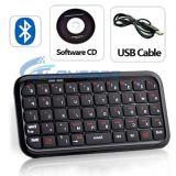 Mini Wireless Bluetooth Keyboard for iPad PS3 for iPhone (IP4G-036)