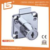 Furniture Security Brass Key Zinc Alloy Drawer Lock