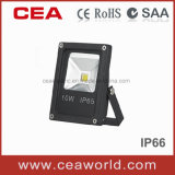 10W Slim LED Floodlight with CE&RoHS Certification