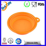 Hot Sale Popular High Quality Silicone Foldable Pet Bowl