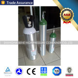 Aluminum Cylinder Small Portable Medical Oxygen Cylinder CO2 Gas Cylinder