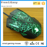 2015 Hot-Selling 6 Button LED Optical USB Wired Gaming Mouse