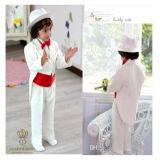 White Fishtail Wedding Dress Flower Boy Suit, Factory Direct