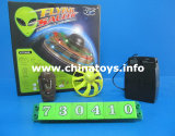 New Model Infrared Remote Control Flying Saucer Toy RC UFO Toys (730410)