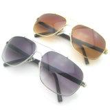 Man/Women Fashion Metal Gradient Sunglasses with UV400