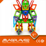 Red Construction 3D Puzzle Toys / Magnetic Puzzles for Toddlers