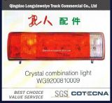 HOWO Truck Parts Combination Light