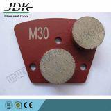 Double Round Segments Concrete Pads