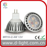 LED Bulb MR16 Aluminum Body 4W 12V 300lm