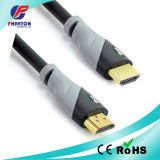 Gold HDMI Black Cable with Ferrite
