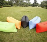 2016 Newest Design Nylon Inflating Airsofa, 10 Seconds Complete Lightweight Warm Weather Sleeping Bag