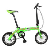14 Inch Single Speed Pocket Bike Aluminum Alloy Folding Bicycle