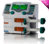 Sale CE Approved LCD Screen Double Channel Syringe Pump with High Quality Sp-50b2 Automatically Calibration -Maggie