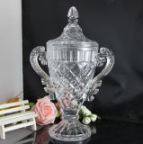 New Design Crystal Glass Trophy Cup