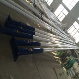 4m Tapered Painted Steel Poles