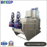 Mobile Design Water Treatment Screw Press Dewatering Machine
