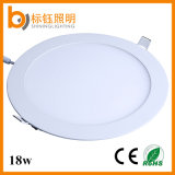 18W China Factory Directly Supply Ceiling Lamp Lighting Aluminium Frame PF>0.9 SMD2835 AC85-265V LED Panel Light