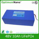 LiFePO4 Battery 48V 10ah for E-Bike (15S2P)
